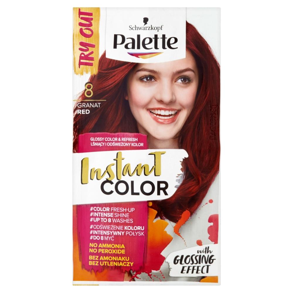 Palette Instant color č. 8 Granátově červený 25ml
