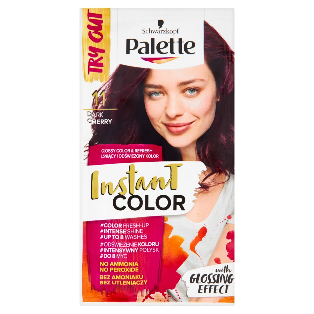 Palette Instant color č. 11 Tmavá třešeň  25ml