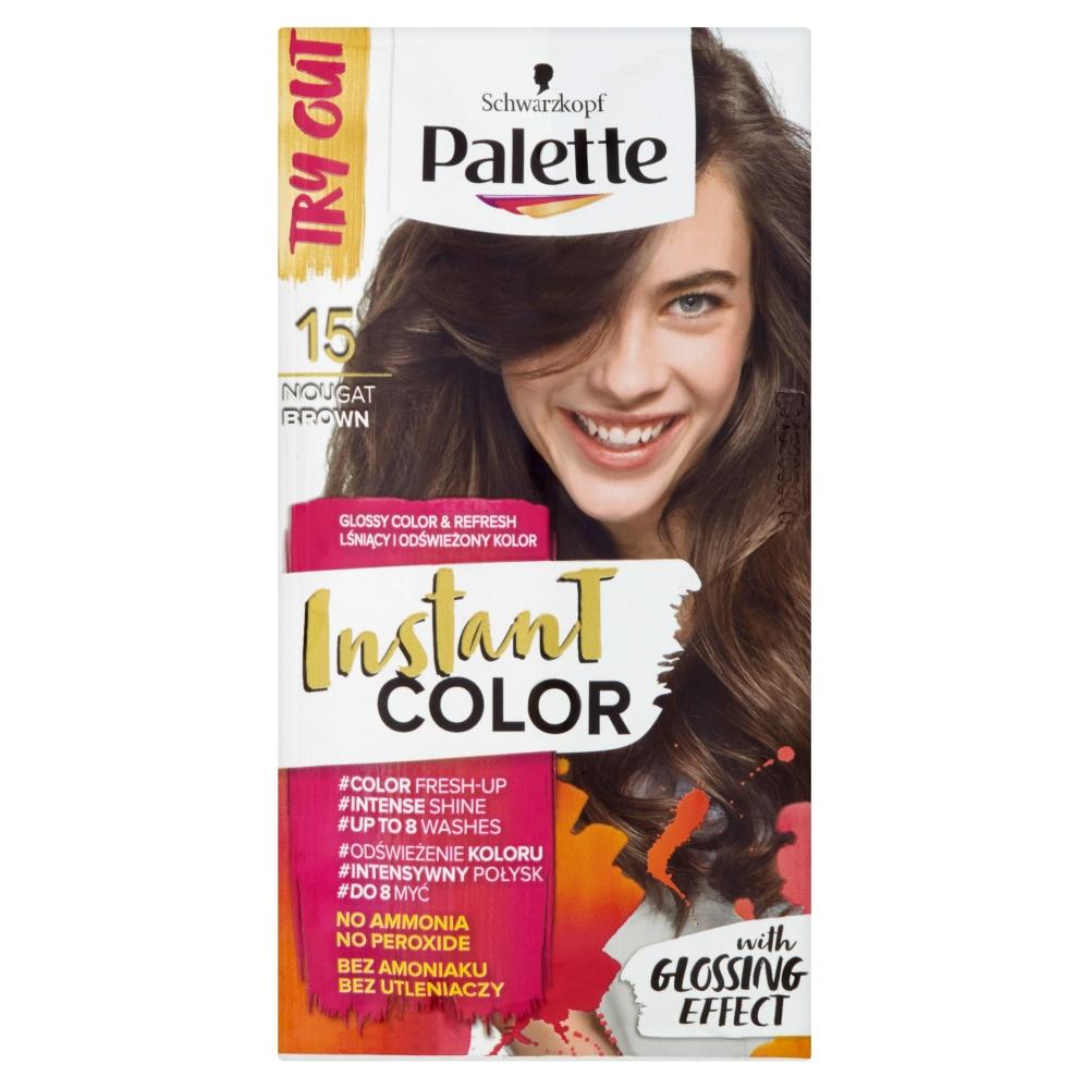 Palette Instant color č. 15 Nugátově hnědý 25ml