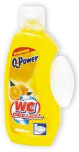 Q Power WC citron  400ml