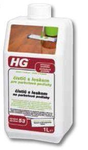 HG čistič s leskem pro parketové podlahy 1000 ml