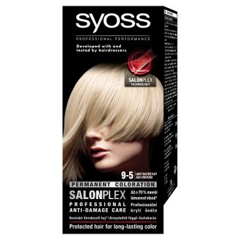 Syoss barva na vlasy Ledový Perleťově Plavý 9-5