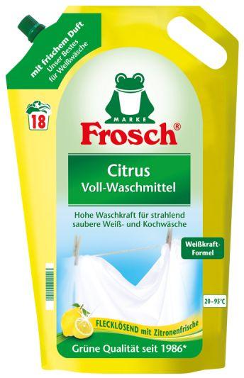 Frosch na bílé prádlo citrus 1,8L