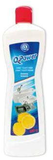 Q power tekutý písek citron 600g