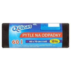 Q clean odpadkové pytle 60x70 50ks 8my 60L