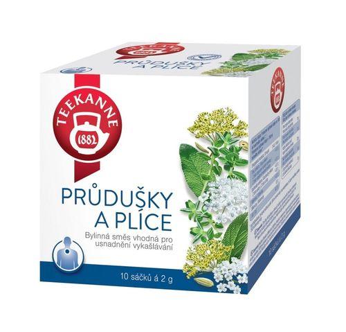 Teekanne Průdušky a plíce bylinný čaj porcovaný 10x2 g