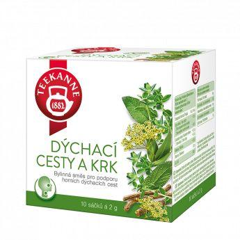 Čaj Teekanne bylinný pro podporu horních dýchacích cest 10sacc