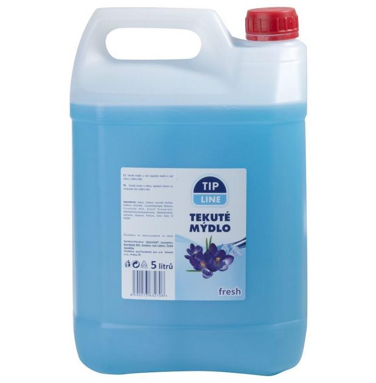 Tip line tekuté mýdlo Fresh Alpské 5L