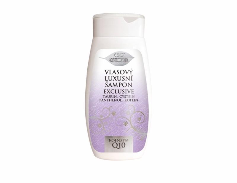 Bio Exclusive Q10 Luxusní vlasový šampon 260ml Bione Cosmetics