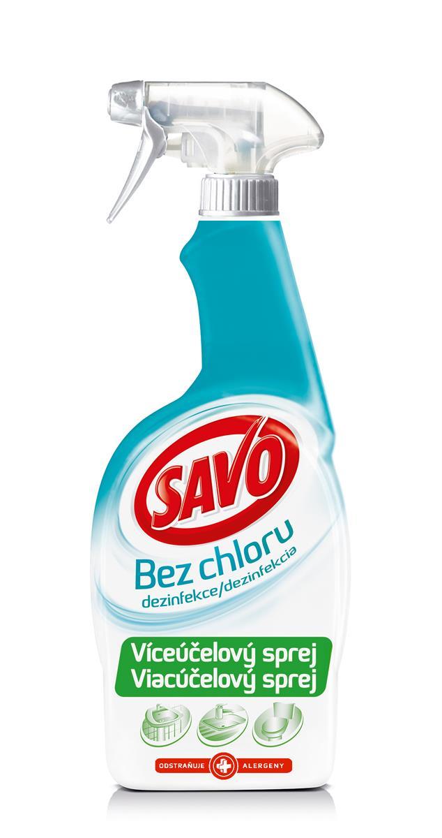 Savo bez chloru desinfekce víceúčelový sprej 700ml