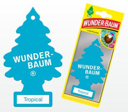 WUNDERBAUM Tropical vonný stromeček  5g 1ks