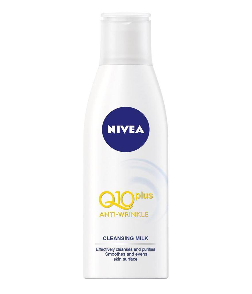 NIVEA Čisticí pleťové mléko proti vráskám Q10 plus 200ml
