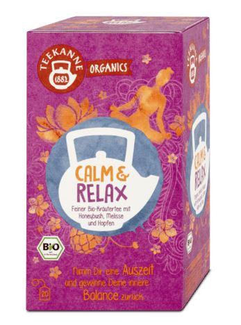 Teekanne BIO čaj Calm & Relax, 36 g