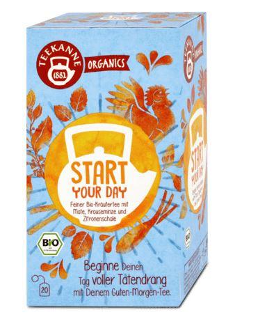 Teekanne BIO čaj Start your day, 36 g