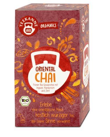 Teekanne BIO čaj Oriental Chai, 36 g