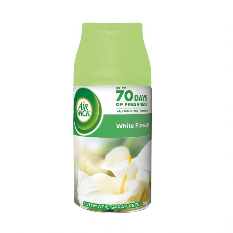 Air Wick FreshMatic Bílé květy frézie náplň pro osvěžovač 250 ml