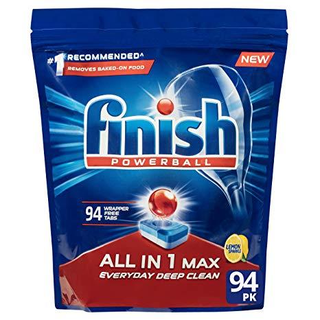 Finish Powerball All in 1 Max Lemon tablety do myčky 94 ks 1504g