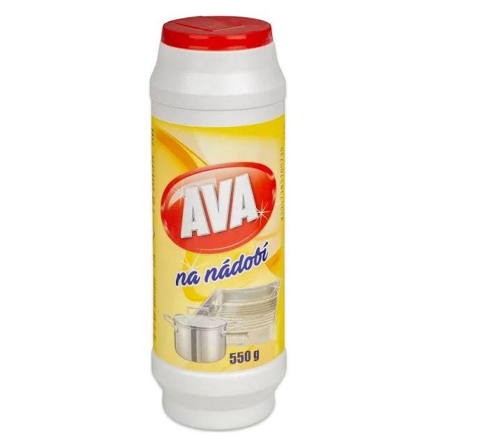 Ava na nádobí písek,550g pe obal(žlutá)
