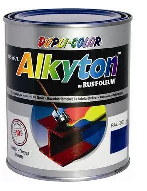 Alkyton hladký lesklý zelenožlutá RAL 6018 750ml