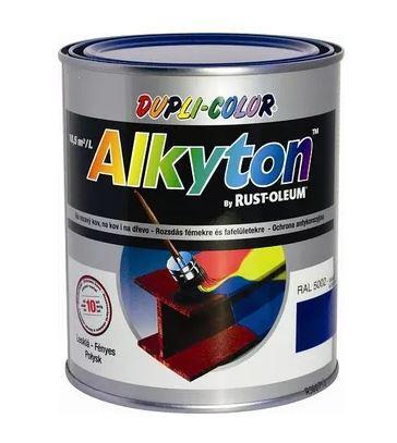 Alkyton hladký lesklý signální bílá RAL 9003 750ml