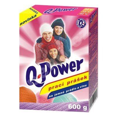 Q Power prací prášek na jemné prádlo a vlnu 600g