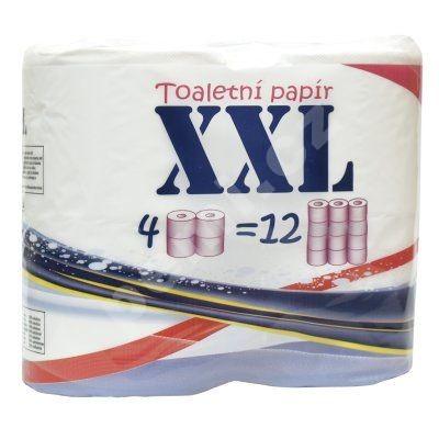 Toaletní papír  XXL 4ks 2vrstvý 100% celulóza