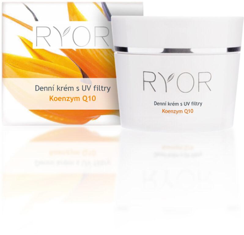 Denní krém s UV filtry - Q10. Koenzym Q10. 50 ml.