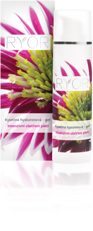 Kyselina hyaluronová - gel. Intenzivní ošetření pleti. 30 ml.